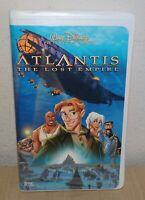The Lost Empire Walt Disney's Atlantis VHS Video Tape