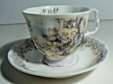 Royal Doulton Brambly Hedge, Cup & Saucer, Meeting on the Sand