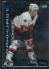CHRIS NEIL 2001/02 PARKHURST EMERALD SPORTSFEST EMBOSSED SP #05/10