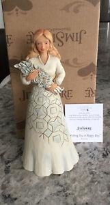 Jim Shore Heartwood Creek (Wishing You A Happy Day) 6001559 Bridal Shower Gift