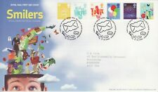 GB Stamps First Day Cover Smiler Booklets (2), baby, balloon etc SHS Letter 2006
