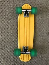 "Globe Bantam 24"" Complete Cruiser Skateboard Yellow"