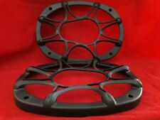 """Black ABS   kicker Grill Only 6"""" x 9""""  1 pair"""