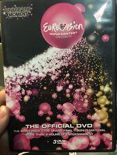 Eurovision Song Contest - Oslo 2010 DVD (3 discs) music ** RARE **