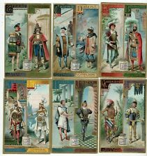 LIEBIG  S 369  F 370  C /SET  '  ALPHABET MALE CHARACTERS ,' G/COND .FRENCH