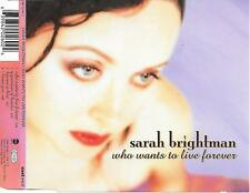 SARAH BRIGHTMAN - Who wants to live forever CDM 4TR Germany 1997 EASTWEST