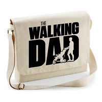 The Walking Dad Fun Vatertag Natur Motiv Comedy Spaß Umhängetasche Messenger Bag