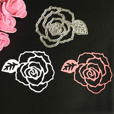 Metal Rose Cutting Dies Stencil For DIY Scrapbooking Embossing Paper Card Decor
