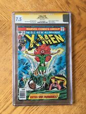 X-Men #101 Signed by Chris Claremont 1st Appearance of Phoenix 7.5 VF- CGC