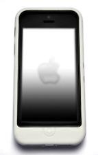 di stile BIANCO APPLE IPHONE 5 5G 5S 5 SE ibrida resistente