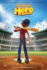 Everyone's Hero movie poster - William H. Macy - 13.5 x 20 inches - Baseball