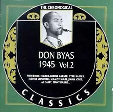 DON BYAS 1945 VOL. 2 CLASSICS CD NEW SEALED LONG OUT OF PRINT