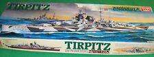 Academy Tirpitz German Battleship Motorized WS003 4000 1:350 Model Kit Cmplt M65
