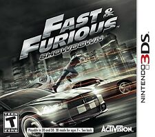 NEW Fast and & Furious: Showdown (Nintendo 3DS, 2013) NTSC