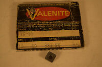 Surplus NOS Valenite SD 333 NN VC55 Inserts Lot of 6 Pieces