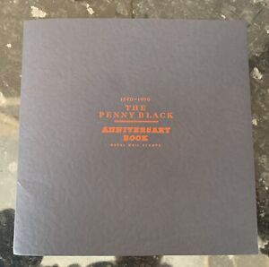 GB The Penny Black Anniversary Book Plus Stamps
