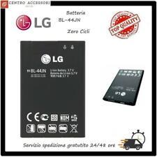 BATTERIA LG BL-44JN OPTIMUS P970 LG L4 SLIDER LS700 L3 L5 1500 mAh LG ZERO CICLI
