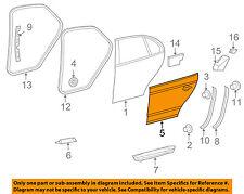 VW VOLKSWAGEN OEM 05-10 Jetta Rear Door-Exterior Panel Right 1K5833106E
