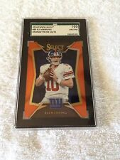 Eli Manning 14 Panini Orange 10/75 SGC GRADED PRISTINE=BGS BLACK LABEL POP 1