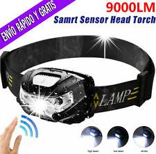 Linterna frontal USB Recargable LED DE CABEZA OUTDOOR HEADLAMP 9000 LUMENS
