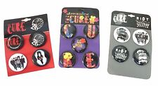 The Cure Bottle Rock Great Circle Riot Tour 15 Piece Pin Button Tote Bag Set New