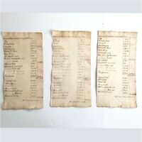 1821 PLYMOUTH BANK MASS. LEDGER STATEMENTS - GOLD, DOLLARS, NOTES, DEPOSITS
