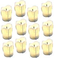 Wohnkultur VertrauenswüRdig Pack Von 6 Warme Weiß Flackern Führte Wachs Kerzen Mit Echt Wachs Material Batterie Kegel Kerzen Für Urlaub Dekoration