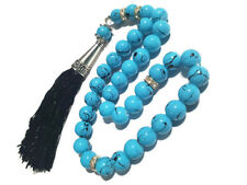 Turquoise Misbaha Prayer Muslim Tasbih Rosary Beads Firuze Islamic Masbaha 6Mm