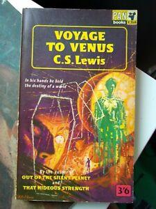 Voyage To Venus, by C.S. Lewis - vintage SF, Pan Book X268, 1963 printing