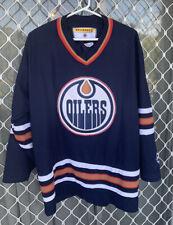 New listing Edmonton Oilers NHL Hockey Jersey KOHO Size XL