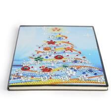 DIY Christmas Tree Special Shaped Diamond Painting 60 Pages A5 Notebook H1