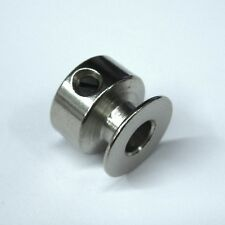 "Home Sewing Machine Steel Motor Pulley, 1/4"" Shaft, 20mm Wide"