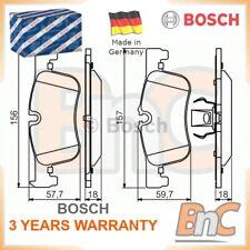 BOSCH FRONT DISC BRAKE PAD SET BMW OEM 0986494561 34116858910