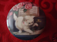 KITTEN ON THE KEYS Coby Carlson 1991 Ardleigh Elliott Limited Edition Music Box