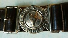 More details for baden powell wolf cub scout leather belt do your best