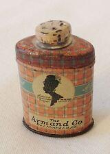 ARMAND from Des Moines, IA U.S.A. - TINY sized SAMPLE talc tin !