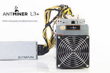 """Bitmain AntMiner L3+ 600+ MH/s (OVERCLOCK) - """"Rent Before Buying"""""""