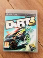 Jeu playstation 3 PS3 DIRT 3 (course / rally) avec boitier en bon etat pal