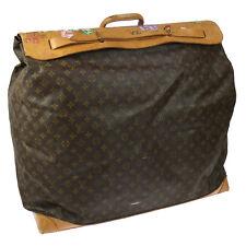Authentic Louis Vuitton Steamer Bag Travel Hand Bag Monogram Vintage F02097