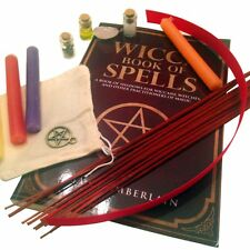 Pine Pentagram Wicca Supplies Starter Gift Kit - Includes Wiccan Magic Spell Chi