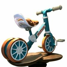 Bicycle Tricycle Kids Balance Bike Training No Pedal Push For 2~4 Age Child Toy