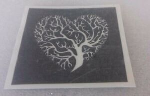 10 x Tree of life stencils for etching on glass  craft  hobby  special present