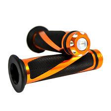 """Universal CNC Motocross Grips Handlebar 7/8""""  for KTM DUKE RC 125 200 390 Orange"""
