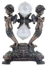 Veronese Bronze Figurine Cherubs Sand Timer Home Decor Cherub Angel