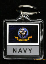 US NAVY KEYCHAIN USA VETERAN PIN UP SOLDIER GRADUATION PROMOTION GIFT MOM DAD