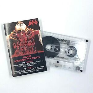 SODOM Obsessed By Cruelty Cassette Tape 1986 Black Metal Rare