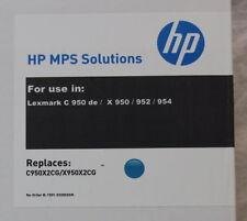 Compatible Cartouche d'encre Lexmark C950X2CG Cyan C950 X950 952 954 neuf