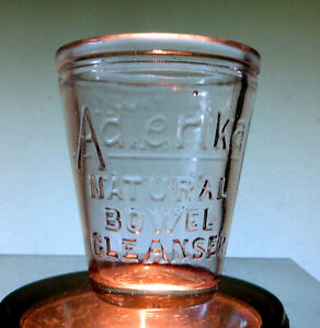 ADLERICA NATURAL BOWEL CLEANSER Medicine Dose Cup NICE!