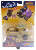 Marvel Thanos Hot Wheels Flip Fighters 1:43 Scale