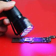 Best Ultraviolet Lamps Torch UV  Invisible Ink Marker Detection 21LED Flashlight
